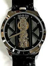 SO & CO New York 5419.1 Madison Mechanical Open Back Men's Watch WARRANTY