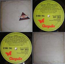 JETHRO TULL MU THE BEST OF 1976 STEREO UNIQ CVR MEGARARE CHILEAN PRESS PROG ROCK