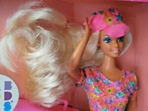 VINTAGE MATTEL BARBIE DOLL - CABOODLES - WITH GLITTER BEACH MAKE UP FOR YOU!