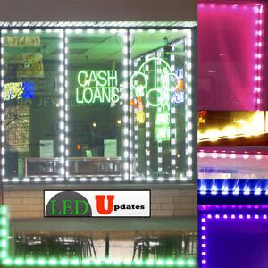LEDupdates Brightest Store front LED Window Light module with UL power supply