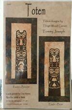 Totem Quilt Pattern Raven Beaver Eagle Bear DIY Quilting Lisa Moore