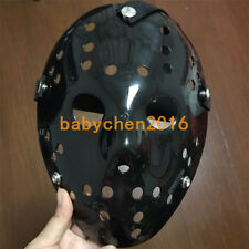 Old Jason Halloween Mask Rare Voorhees Friday The 13th Hockey Scary Mask Black