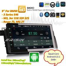 """BMW 3er E46 M3 Rover 75 MG ZT Android 6.0 Autoradio GPS Navi 3G DAB+9""""5903FR"""