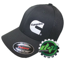 Dodge Cummins Trucks Air mesh Hat black breathable cap fitted flex fit s/m