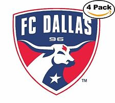 FC Dallas FC MLS Football Soccer Vinyl Sticker Decal 4X4