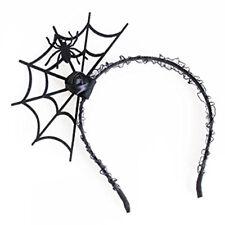 2X(Halloween Cosplay Spinne Haarreif-Neue Modisch Spinnennetz Stirnband Kopfs 2X