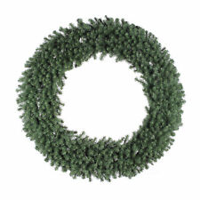 Vickerman Douglas Fir 60 Inch Artificial Unlit Holiday Decor Christmas Wreath