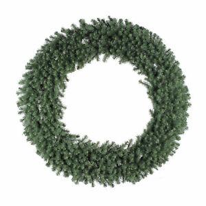 Vickerman Douglas Fir 60 Inch Artificial Unlit Holiday Decor Christmas Wreath