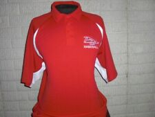 Minor League PALM BEACH CARDINALS Team Issued sewn polo shirt men's Large