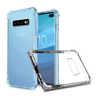 Case for Samsung Galaxy S10 S10e Plus Ultra Slim Shockproof Silicone Clear Cover