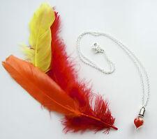 Final Fantasy Necklace Phoenix Down Glass Vial Necklace Fantasy Pendant Handmade