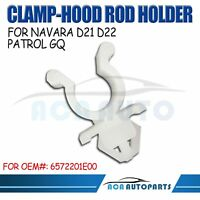 Clamp-Rod Hood Support Plastic Clip For Nissan Patrol GQ XTrail fit Ford Maveric