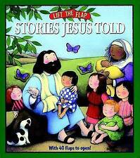 Stories Jesus Told: Lift-The-Flap, Mark Littleton, Very Good Book