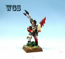 25mm Warhammer Fantasy WGS painted The Empire Captain with Gory Sword TE005
