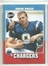 Drew Brees 2001 Upper Deck Vintage New Orleans Saints RC Card #251