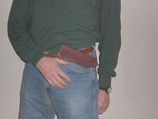 R. Jones semi-horzontal Sheath for Jeff White Nessmuk Knife