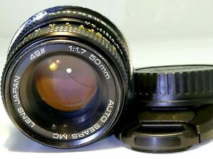 Sears PK 50mm f1.7 manual Lens lens adapted to Canon EOS EF cameras T6i T7i T8i