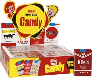 Candy Cigarettes, 24 Count Box, Original Recipe ~ YANKEETRADERS ~ FREE SHIPPING