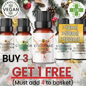 Christmas Fragrance Oils - Fragrance Oil Scents Burner Candle Diffuser Winter