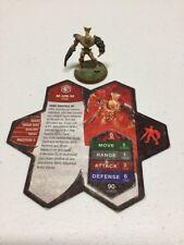 Heroscape Game Figure Army *Ne-Gok-Sa* Set/Lot w Card