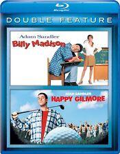 Billy Madison / Happy Gilmore Hi-def Blu Ray 2 Discs Adam Sandler