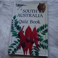 SOUTH AUSTRALIA QUIZ BOOK jan gallehawk 1991 TRIVIA Learning SCHOOL Young Adult