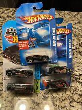 Hot Wheels Black Ferrari Lot 599XX,458,360,333 SP