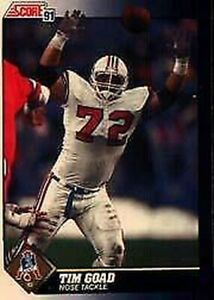 A8643- 1991 Score Football Cards 501-686 +Inserts -You Pick- 10+ FREE US SHIP