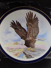 Boehm 1981 AMERICAN BALD EAGLE Inauguration of Reagan & Bush Ltd Ed Plate
