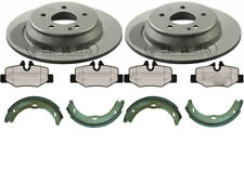 MERCEDES VITO W639 REAR BRAKE DISCS AND PADS WITH HAND BRAKE SHOES