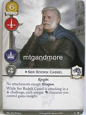 A Game of Thrones 2.0 LCG - 1x Ser Rodrik Cassel #041 - The King's Peace - Secon