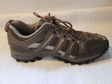 The North Face Mens Gore-Tex Hiking Trail Shoes Vibram Sole Olive Green Size 10