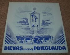 Dievas Prieglauda St. Virgin Mary Parish Choir~RARE Private Christian Worship