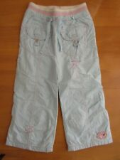 Next Baby Girls Light Blue Lined Pull On Style Trousers - Age 1.5 - 2 Years