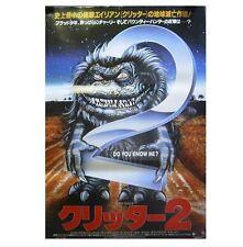 R523 CRITTERS Movie Horrors Sci Fi-Print Art Silk Poster