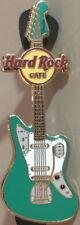 Hard Rock Cafe ONLINE 2010 Green FENDER ERA Guitar Series PIN Jaguar HRC #53162