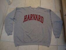 NCAA Harvard Crimson Gray Crew Neck Sweatshirt Adult Size XL