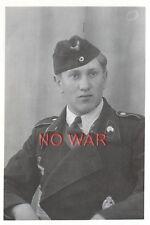 WWII GERMAN PHOTO ELITE DIVISION STURMMANN W ORDER PORTRAIT --