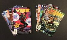 Justice League of Americas VIBE #1 - 10 Comic Books FULL SET DC New 52 Flash TV