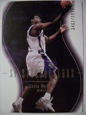 2003-04 SP AUTHENTIC CHRIS WEBBER # 108  KINGS !!!  BOX  # 33