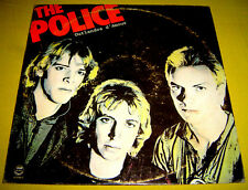 PHILIPPINES:THE POLICE - Outlandos D' Amour LP,RARE,Sting,New Wave,Punk Rock