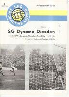 OL 77/78  1. FC Lok Leipzig - SG Dynamo Dresden