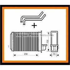 Radiateur de chauffage Peugeot 205+309 Tous modeles essence / Diesel / Gti