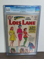 Superman's Girlfriend Lois Lane #51 8/64 DC Comics Comic Book CGC 3.5 W23