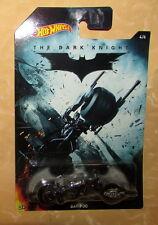 HOT WHEELS HW BATMAN collection n° 4/6 BATMOBILE film THE DARK KNIGHT cod.13312