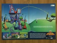 Stupid Invaders PC 2001 Vintage Print Ad/Poster Official Big Box Promo Art Rare