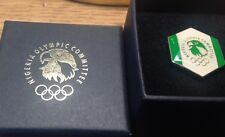 RIO 2016  OLYMPIC PIN  NOC NIGERIA  new in box  National Olympic Committee