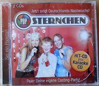 Pop Sternchen - Jetzt singt Deutschlands Nachwuchs (2003) - 2 CDs neu & OVP