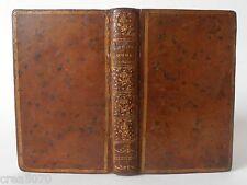 LES LOISIRS D'UNE JEUNE PERSONNE RAISONNABLE ET SENSIBLE,RELIURE D'EPOQUE, 1786