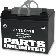 Parts Unlimited Suzuki Yamaha AGM Maintenance-Free Battery YTZ7S-BS 2113-0374
